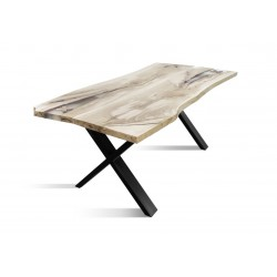 URBAN-100 Solid Wood Dining Table