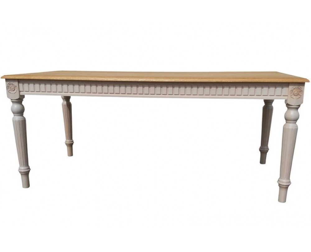 BADI Square Solid Wood Dining Table