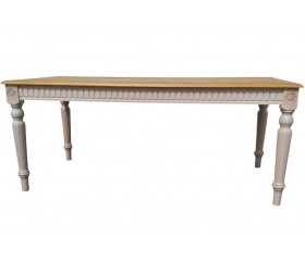 BADI Rectangular Solid Wood Dining Table